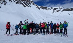 Participants en el curs de nivell 1 que es va fer el cap de setmana passat.