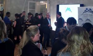 Promoció d'Andorra a París com a destí de turisme de negocis