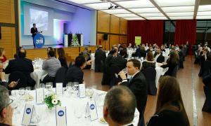 Els premis es van lliurar en el marc del sopar de gala de la CEA, ahir a la nit.