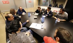 """El PS retreu al Govern la """"manca de diàleg"""" amb els sindicats"""