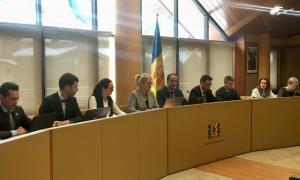 El Consell de Comú que va tenir lloc ahir al matí a la Massana.
