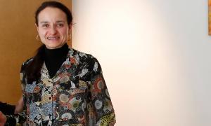 La presidenta d'AHA, Cristina Canut.