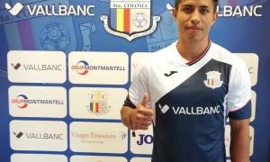 Diego Nájera amb l'equipació del seu nou equip.