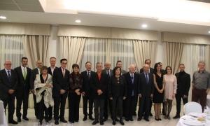 Foto de família dels guanyadors de l'edició del 2019, l'última fins a la data.