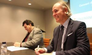 Assandca signa amb Vall Banc un acord per al patrocini del seu pla anual d'activitats