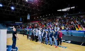 El Poliesportiu va acollir un dels actes més concorreguts de la campanya de l'ACB, segons el president, Antonio Martín.