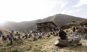 L'edició del 2017 del festival també es va celebrar al refugi guardat de Comapedrosa i va fer ple.