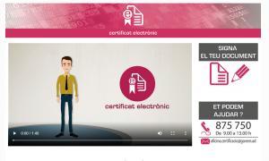 Fins al 25 de setembre s'havien emès 1.518 certificats electrònics.