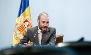 El secretari general del Govern, Jordi Casadevall, ahir.