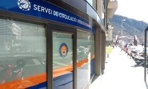 Les instal·lacions del servei de Circulació d'Escaldes-Engordany.