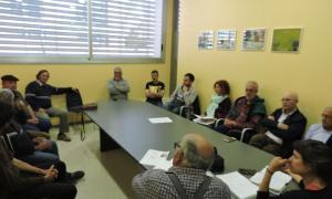 Mobilització contra la línia elèctrica de Foradada a la Pobla de Segur
