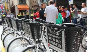 Escaldes tindrà quatre estacions de recollida de bicicletes elèctriques