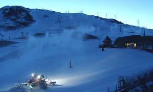 Vaquèira-Beret atura el trasllat de neu amb camions i helicòpters