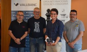 Maxime Lagarde s'imposa a l'Open Internacional Vall Banc