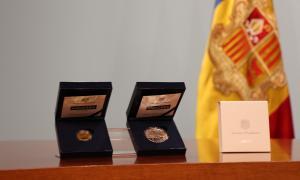 Les monedes commemoratives es van presentar el 12 de març passat.