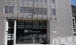 Façana del Comú d'Escaldes-Engordany.