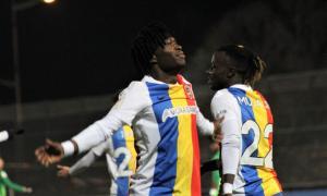 Moha Keita i 'Musa' Jr., la parella d'extrems de l'FC Andorra, està sent una de les grans sensacions d'aquest inici de temporada a segona divisió B espanyola.