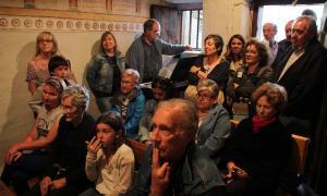 Els veïns de l'Aldosa celebren la festivitat de Sant Antoni