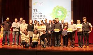 El restaurant La Vita è Vegan i els projectes 'De l'hort a taula' i 'Tocats de l'ala', premiats al concurs d'iniciatives ambientals