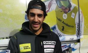 Joan Verdú, que es va lesionar fa un any, torna a competir i vol anar pas a pas sense pensar a tornar al circuit de la Copa del Món.