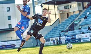 El defensa del Sandefjord Fotball de l'OBOS-ligaen de Noruega, Marc Vales.