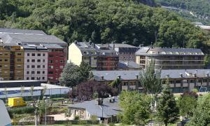 Edificis destinats a habitatges a Andorra la Vella.