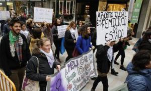Una concentració organitzada per Stop Violències a Andorra.