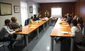 Jornada de treball organitzada pel Consell Comarcal de la Cerdanya.