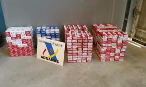 El tabac decomissat per l'Agència Tributària en dos vehicles a les Valls de Valira.