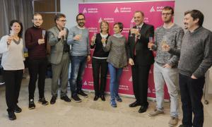 Els responsables d'Andorra Telecom van celebrar una trobada amb la premsa.