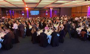 Un instant de la gala benèfica d'Andbank.