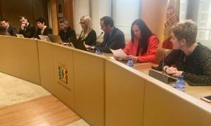 Sessió del consell de comú, ahir al matí.