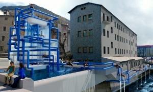 La placeta del Madriu tal com quedarà un cop es materialitzi el projecte dissenyat per l'artista Javier Balmaseda.