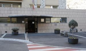 L'edifici de consultes externes.