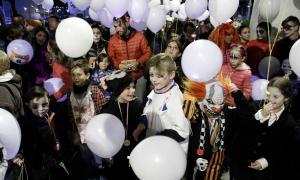 Uns 400 participants corren a la cursa de Halloween d'Escaldes