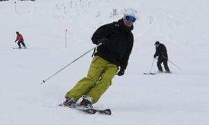 Esquiadors a les pistes del Principat.