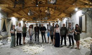 Andorra, Escaldes, fàbrica de llana, land art, Pere Moles, catàleg, Cruz, Férriz, Santos