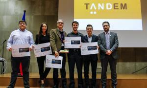 L'equip 'Tancat' va ser el guanyador dels premis Tàndem 2018 amb un projecte que respon al repte d'hotels Plaza.