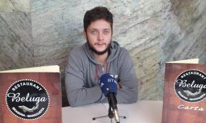 l nou fitxatge de l'FC Andorra va dir quines són les seves primeres impressions, ahir.