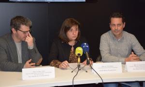 La presentació de la 'Guia dels espais protegits d'Andorra'.