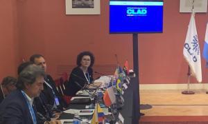 La ministra de Funció Pública, Judith Pallarés, al congrés de Buenos Aires.