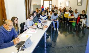 La celebració del Dia mundial de la fibromiàlgia va tenir lloc a la seu de la Federació Andorra d'Associacions de Discapacitats.