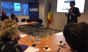Un moment de la presentació dels primers resultats de l'estudi sobre la Marca Andorra.