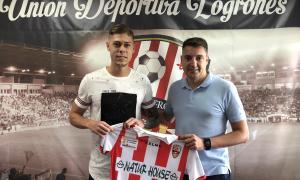 Alavedra fitxa per la UD Logronyès