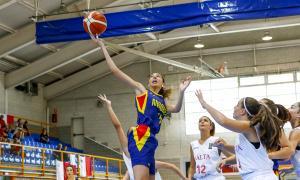 L'U18 femenina buscarà demà un lloc per a la final