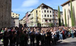La Seu d'Urgell secunda l'aturada de país i estableix serveis mínims