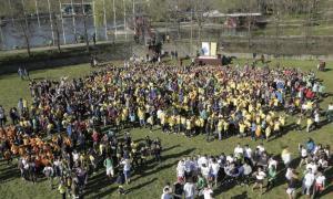 Més de 1.300 persones prenen part en l'acte del dia de l'activitat física