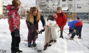 La neu caiguda al nord de Catalunya afecta una vintena de carreteres