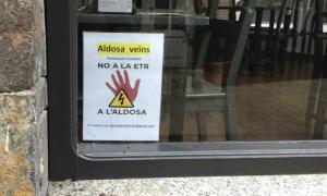 El projecte ha generat una forta oposició entre els veïns de l'Aldosa.