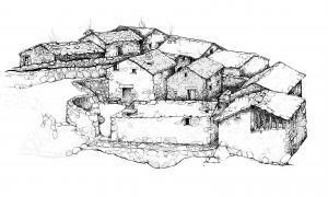 Andorra, la Margineda, Santa Coloma, jaciment arqueologia, excavacions, Congrés d'història dels Pirineus, Villaró, Vela, poblat, poble, castell, Sonplosa, Alegria, Gallego